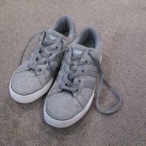 Adidas Neo Comfort Footbed Gray Sneaker Gym Shoes